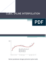 Cubic Spline