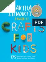 Excerpt from Martha Stewart's Favorite Crafts For Kids