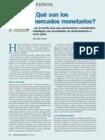 Que Son Los Mercados Monetarios