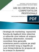 Prezentare Power Point Strategiile de marketing ale firmei