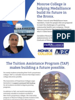 2013 APC Colleges Advocacy Postcard - Monroe College