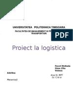 Proiect Logistica