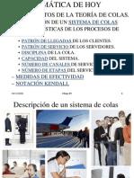 FUNDAMENTOS DE LA TEORÍA DE COLAS