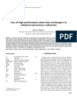 Use of High Performance Plate Heat Exchangers in Chemical and Process Industries.pdf