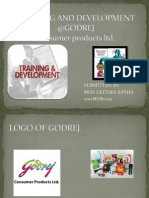 Training and Development @Godrej