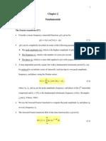 Ch2 Fundamentals 2013