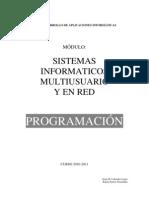 Programacion SIMR 2010-11