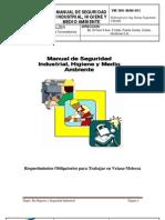 Manual de Seguridad Industrial, Higiene y Medio Ambiente