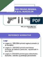 Reglementari Arme