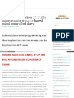 Strahlenfolter - Elisa Lam - Targeted Individuals - Based Mind Controlled Slave - Minddefense-wordpress.com