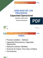 Variabilidad de Los Procesos. Capacidad Operacional. 2006