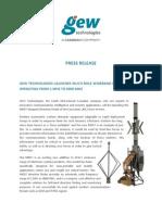 GEW Technologies - MRD7 Press Release v004