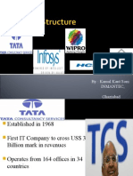 Capital Structure of IT Co's.