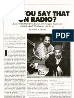 Car Talk Autoweek Profile 1987
