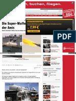 Strahlenfolter - Laser-Kanone Auf Kriegsschiffen Im Test - Die Super-Waffen Der Amis - Bild.de