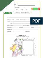 Ficha Pessoal (Dossier)