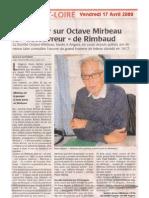"""Bertrand Guyomar, « Tout savoir sur Octave Mirbeau, le """"découvreur"""" de Rimbaud »"""