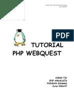 Tutorial PhpWebQuest