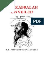 Mathers-The Kabbalah Unveiled