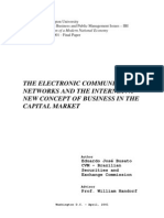 Electronic Communication and Internet
