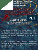Bandura 1999, AUTOEFICACIA