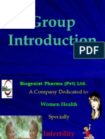 Company Introduction Marketing Plan OfHCG & HMG