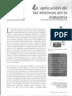 Aplicación de las enzimas en la industria