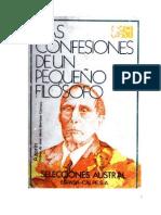 Azorin - Las Confesiones de Un Pequeno Filosofo