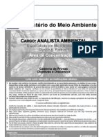 Cespe 2011 Mma Analista Ambiental III Prova