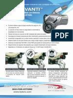 Brochure Avanti Unex