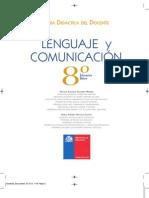 Lenguaje y Comunicación - 8° Básico (GDD)