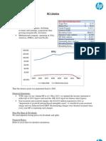 Hewlett Packard (HPQ) Equity Valuation