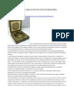Eratostenes y El Reloj de Sol de Faltriquera