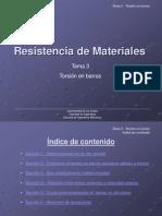 Resistencia de Materiales Tema 3
