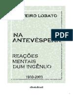 Antevespera Monteiro Lobato