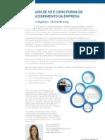 """Artigo """"Redesign de site como forma de redescobrimento da empresa"""" (MZ Group)"""