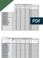 Registro Auxiliar 2013-Ugel Santa