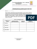 AUTORIZACION DE LOS REPRESENTANTES DE LAS NIÑAS DE CUARTO GRADO PARA QUE RECIBAN CLASES DE RECUPERACION PEDAGOGICAS DESDE LAS 13