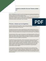Avanza la creación de una nueva Judeaa en la Patagonia