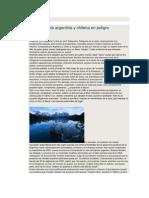 La Patagonia Argentina y Chilena en Peligro