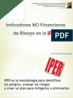 Como crear Indicadores NO Financieros para la IPER