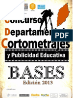 Bases Cortometrajes