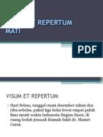 Bayu-Visum Et Repertum Mati
