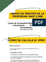 El Cálculo del IPPR y Vacancia Comercial