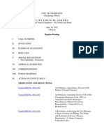 2012-06-19 Regular Council Meeting Agenda