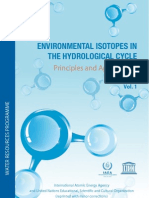 Environmental Isotopes in the Hydrological Cycle Vol 1