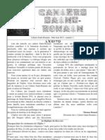 Cahiers Saint-Romain numéro 1 - mai-juin 2013