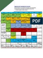 Programa Educativo Meif 2010