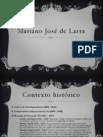 Presentación sobre Mariano José de Larra