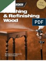 133172999 Black Decker Finishing Refinishing Wood